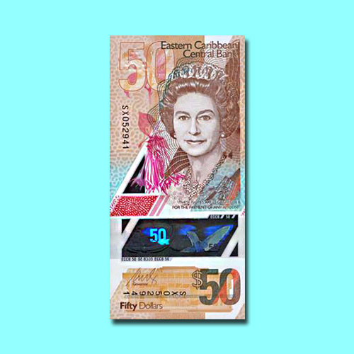 Eastern-Caribbean-Currency-Union-Launches-New-EC$50-Polymer-Notes