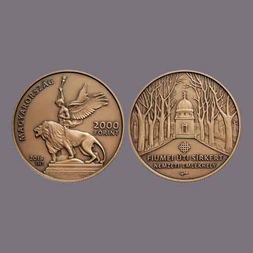 Fiumei-Road-Cemetery-Honoured-on-Hungarian-Coin