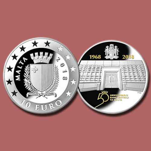 New-Coins-Commemorate-50th-Anniversary-of-the-Central-Bank-of-Malta