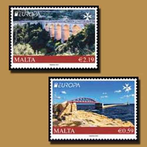 Bridges-Featured-on-Latest-Stamps-by-Malta-Post
