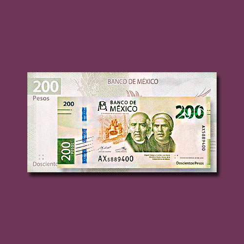 Mexico-Issues-New-200-peso-Note