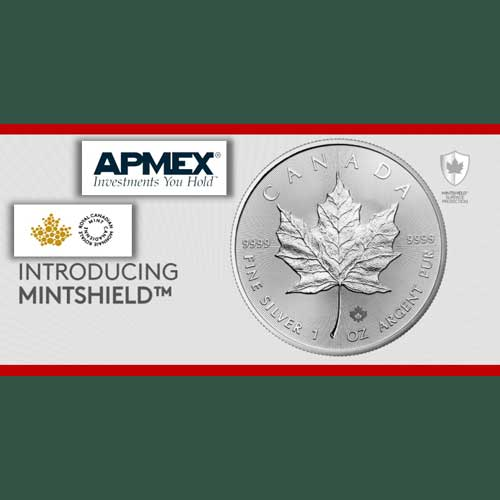 Silver-Maple-Leaf-Canadian-Coins-with-Advanced-MINTSHIELD-Technology