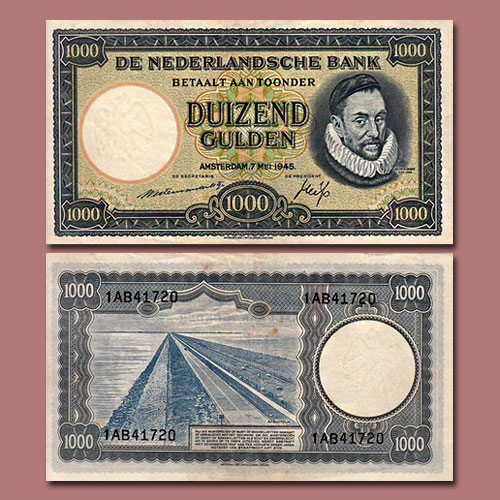 Two-Interesting-World-Notes-Issued-in-1945-Offered-by-MA-Shops