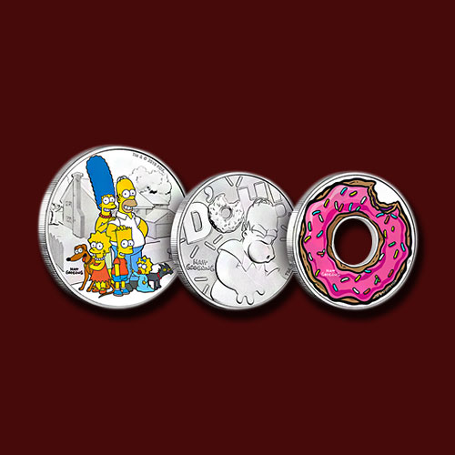 """Lovely-Coins-Dedicated-to-""""The-Simpsons"""""""