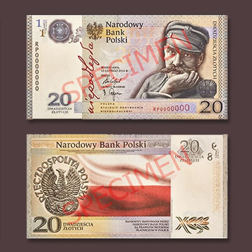 New-Banknotes-to-Celebrate-Poland's-100th-Independence-Day