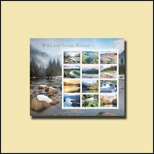 Wild-and-Scenic-Rivers-Forever-Stamps-of-the-USA