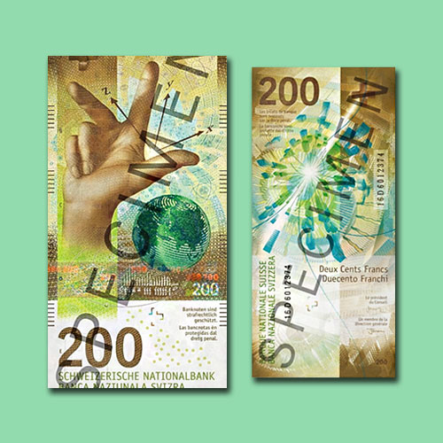 Switzerland-Releases-New-200-franc-Banknotes