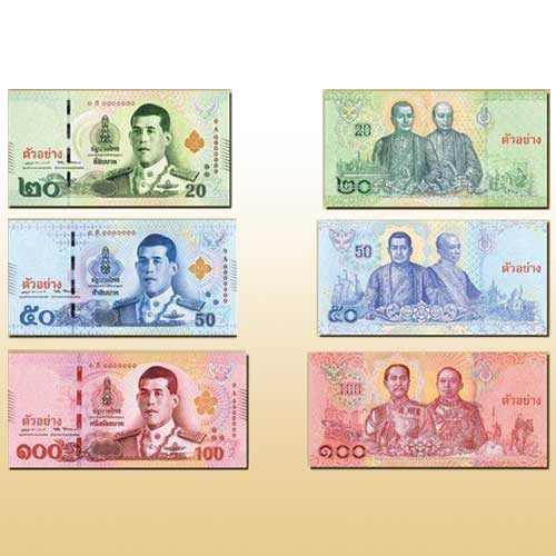 New-Banknotes-Featuring-New-Thai-King