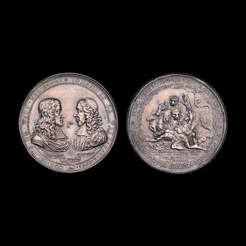 Dutch-1672-Bronze-Medal-Remembering-Brutal-Murder-to-be-Auctioned