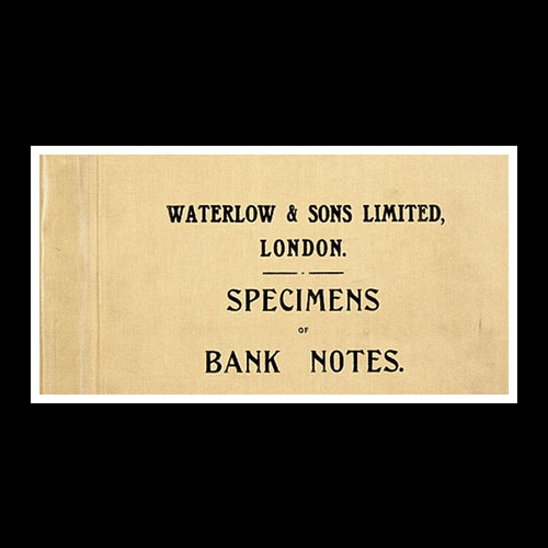 A-Rare-Waterlow-&-Sons-Ltd-Book-with-Specimen-Banknotes-Auctioned