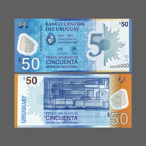 Uruguay's-New-50-peso-Banknote