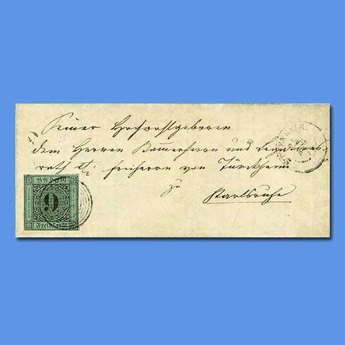 Rare-1851-Baden-Error-Cover-Sold-for-€1.52-Million