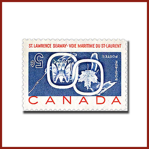 Canada's-St.-Lawrence-Seaway-Inverted-Error-Stamp-to-be-Auctioned-