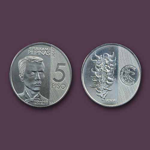 Latest-Philippine-P5-Coin-Featuring-Bonifacio