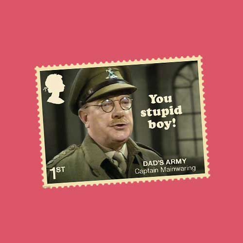 50th-Anniversary-of-Dad's-Army-Celebrated-on-Royal-Mail-Stamps