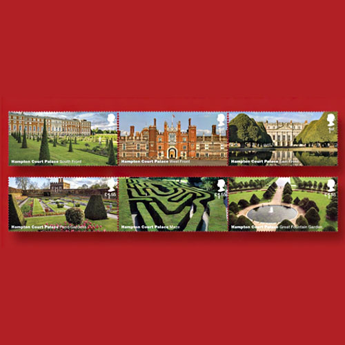 16th-Century-Hampton-Court-Palace-on-New-Royal-Mail-Stamps
