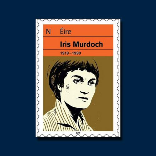 Irish-Postage-Stamp-Honours-Writer-Iris-Murdoch
