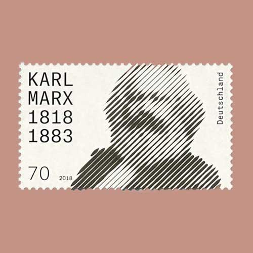 Commemorative-Stamp-Celebrates-Karl-Marx's-200th-Birthday