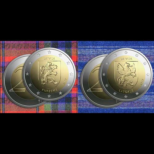 Latvian-Bank-Issues-two-Euro-Commemorative-Coins-Dedicated-to-Kuzeme-and-Latgale