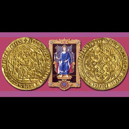 Beautiful-Medieval-French-Gold-Coin-to-be-Auctioned