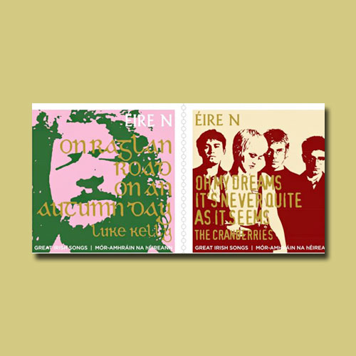 Irish-Stamps-Honour-World-Famous-Musicians