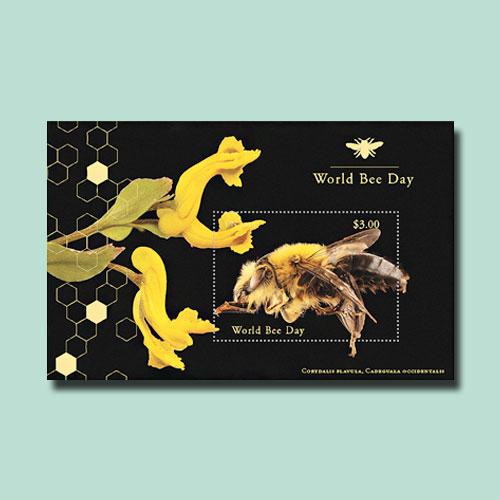 Latest-UN-Souvenir-Sheets-Celebrate-World-Bee-Day