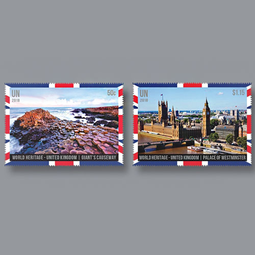 UK-World-Heritage-Sites-on-Postage-Stamps