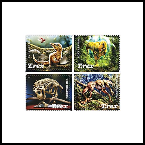 T.-Rex-Stamps-of-USPS-to-Include-Lenticular-Elements