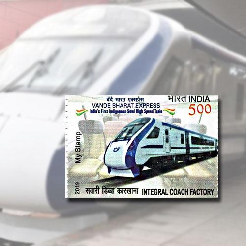 Vande-Bharat-Express-Postage-Stamp