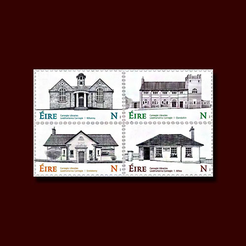 Andrew-Carnegie-Libraries-on-Latest-Irish-Stamps
