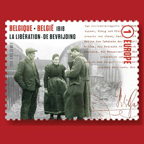 Belgium's-Final-Stamp-from-its-WWI-Anniversary-Series