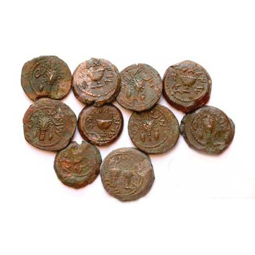 Ancient-Coins-Dating-Back-to-the-Jewish-Revolt-against-Rome-Discovered-in-Jerusalem