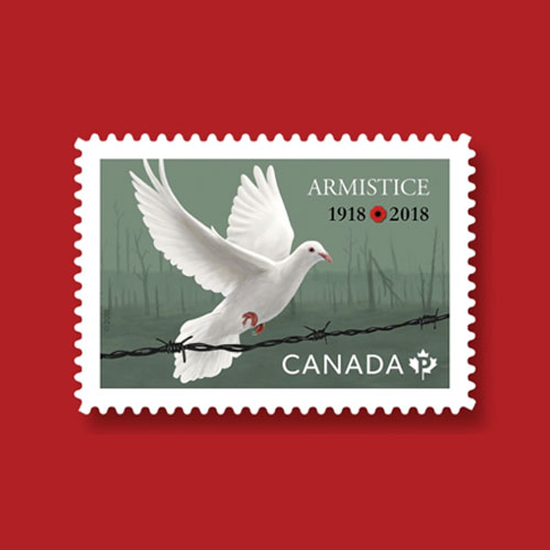 Canada's-Armistice-Postage-Stamp