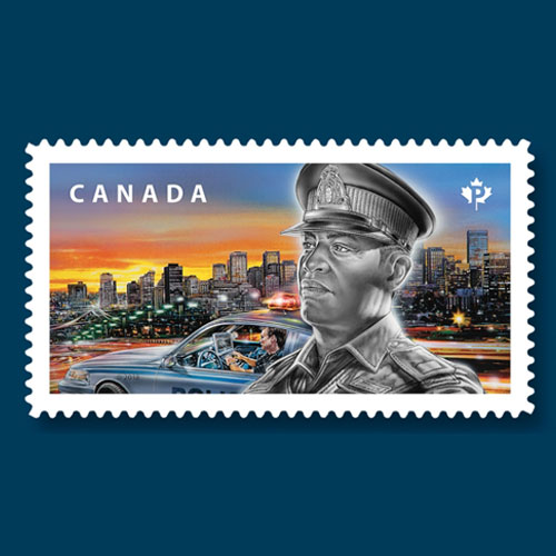 Police-Force-Honoured-on-Canadian-Postage-Stamps