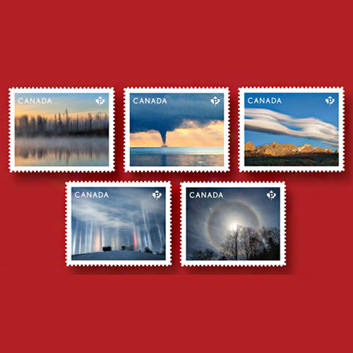New-Canadian-Stamps-Highlight-Weather-Wonders