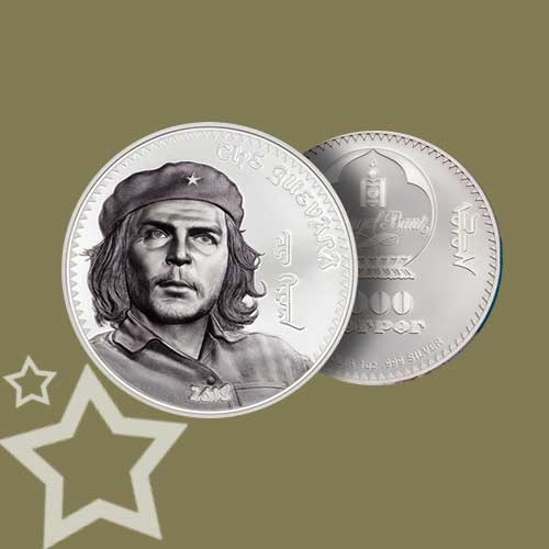 Che-Guevara-Featured-on-Silver-Coin-of-Mongolia