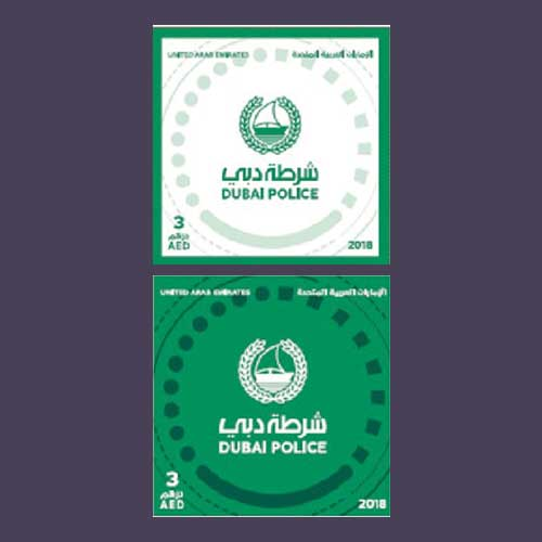 New-Stamp-Features-New-Dubai-Police-Logo