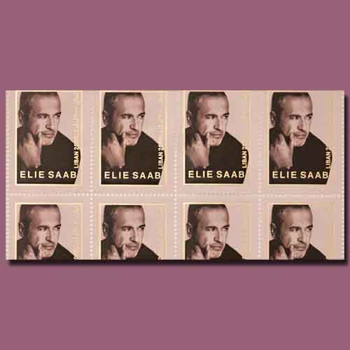 Lebanese-Designer-Elie-Saab-Honoured-on-Postage-Stamps