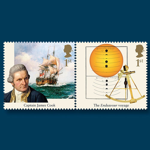 Stamps-Celebrate-250th-Anniversary-of-'Endeavour'-Voyage