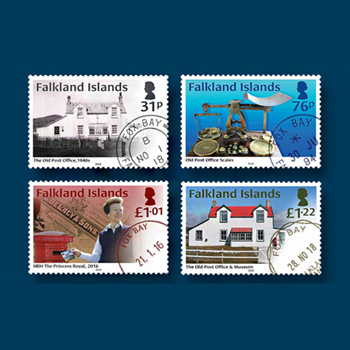 Oldest-Post-Office-of-Falkland-Island-on-Latest--Stamps