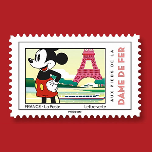 Mickey-Mouse's-Philatelic-Tour-in-France