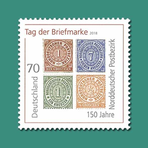 First-Stamps-of-Germany's-Unified-System