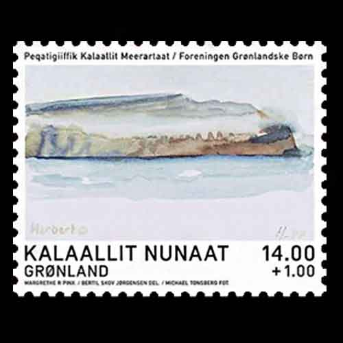 Greenland-Stamps-Feature-Queen-Margrethe-II's-Paintings