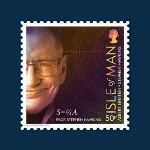 Stephen-Hawking-Honoured-on-Isle-of-Man-Stamps