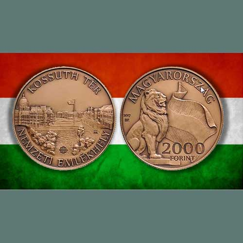 Hungarian-Mint-Celebrates-Historic-Public-Square-on-its-Latest-Coin