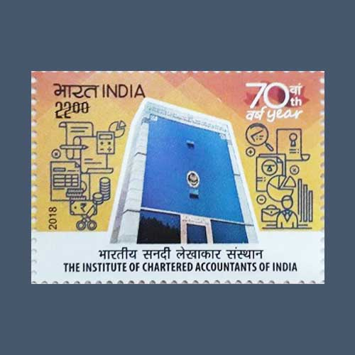 70th-Anniversary-of-ICAI-Celebrated-on-Postage-Stamps