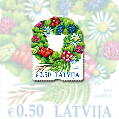 New-Latvian-Stamp-Celebrates-the-Festival-of-Summer-Solstice