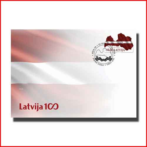 New-Latvia-Stamps-Look-like-a-Flag-and-Are-Shaped-Like-a-Map