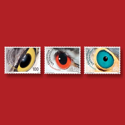 Birds'-Eyes-on-Stamps-from-Liechtenstein
