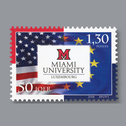 Postal-Release-Honours-50th-Anniversary-of-Miami-University-in-Luxembourg